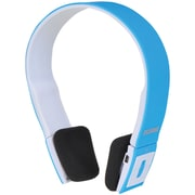Sylvania Bluetooth SBT214-BLUE Stereo Headphones, Blue