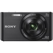 Sony Cyber-shot Digital Camera DSCW830/B, Black