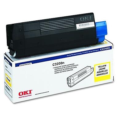 Okidata 43034801 Yellow Toner Cartridge, Type C6