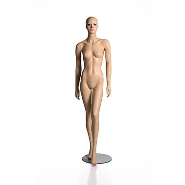 RP Adult Female Mannequin with Makeup, Caucasian Skin Colour