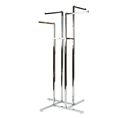 Can-Bramar 4-Way Rack with Straight Arms, Chrome (R10)