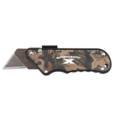 Olympia Tools Stainless Steel Camo Turbo X Knife