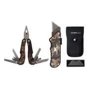 Olympia Tools Camo Turboknife and Multifunction Pliers Set