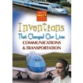 Cerebellum Just The Facts: Inventions That Changed Our Lives: Communications & Transportation DVD