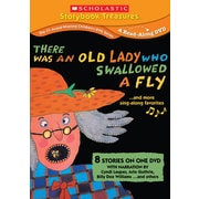 Scholastic There Was an Old Lady Who Swallowed a Fly... and More Sing-Along Stories DVD