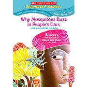 Scholastic Who Mosquitoes Buzz in People's Ears... and More African Folk Tales DVD