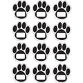 Ashley Die Cut Magnet Sheet, 8.5in. x 0.2in., Black Paw