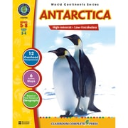 Classroom Complete Press® World Continents Series Antarctica Book