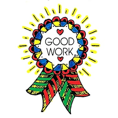 Center Enterprises Good Work Award Stamp