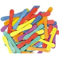 Chenille Kraft® Bright Hues Craft Spoons, 0.375in. x 4.5in., Assorted