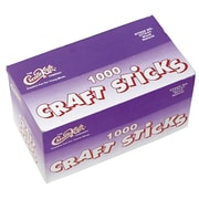 Chenille Kraft® Creativity Street® Craft Sticks, 4 1/2 x 3/8, Natural