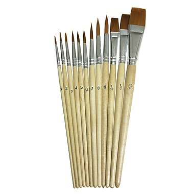 Chenille Kraft Watercolor Brush, 12/Pack (CK5136)