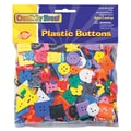 Chenille Kraft® Creativity Street® Bigger Buttons, Assorted