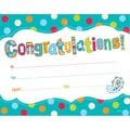 Creative Teaching Press® Dots On Turquoise Congratulations Award