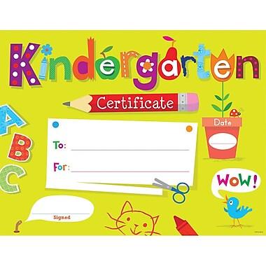 Creative Teaching Press® Kindergarten Certificate Award