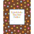 Creative Teaching Press® Dots On Chocolate® Substitute Teacher Folder, Grades K - 5