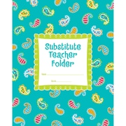 Creative Teaching Press® Dots On Turquoise® Substitute Teacher Folder, Grades K - 5