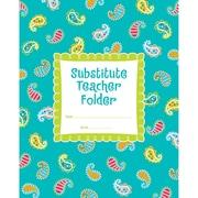 Creative Teaching Press® Dots On Turquoise® Substitute Teacher Folder, Grades K - 5