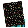 Creative Teaching Press® Folder With 2 Pocket, Dots On Black