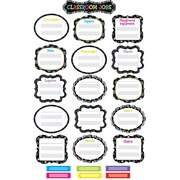 Creative Teaching Press® Mini Bulletin Board Set, BW Classroom Jobs