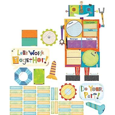 Creative Teaching Press® Bulletin Board Set, Riveting Robots Class Jobs
