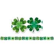 Creative Teaching Press® Bulletin Board Border, Shamrocks