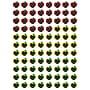 Creative Teaching Press® Dots On Black Apples Hot