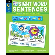 "Creative Teaching Press® ""Cut & Paste Sight Words Sentences"" Book, Word Recognition"