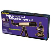 Educational Insights® Geosafari® Telescope and Microscope Set, 80x/600x, Grades 3+