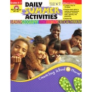 Evan-Moor® Daily Summer Activities: Moving from 6th to 7th Grade Activity Book, Grades 6 - 7