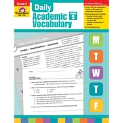"Evan-Moor® ""Daily Academic Vocabulary"" Grade 5 Teacher's Edition Book, Vocabulary Skills"