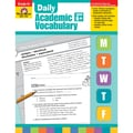 Evan-Moor® in.Daily Academic Vocabularyin. Grade 6 Teacher's Edition Book, Vocabulary Skills