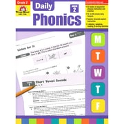 "Evan-Moor® ""Daily Phonics"" Grade 2 Book, Language Arts/Reading"