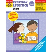 Evan-Moor® Everyday Literacy: Math Teacher's Edition Book, Grades PreK