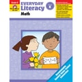 Evan-Moor® Everyday Literacy: Math Teacher's Edition Book, Grades K