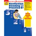 Evan-Moor® Nonfiction Reading Practice Teacher's Resource Book, Grades 6+
