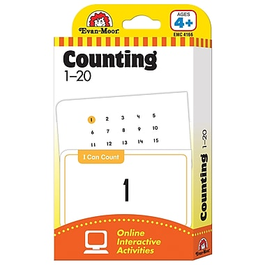 Evan - Moor® Learning Line: Flash Card, Counting 1 - 20