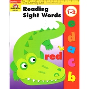 "Evan-Moor® ""Learning Line: Reading Sight Words"" Grade 1st -2nd Activity Book, Early Learning"