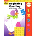 Evan-Moor® Learning Line Beginning Counting W/Mother Goose Activity Book, Grades PreK - K