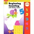 Evan-Moor® Learning Line Beginning Counting W/Mother Goose Activity Book, Grades PreK - K