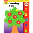 Evan-Moor® Learning Line Counting 1-20 Activity Book, Grades K - 2