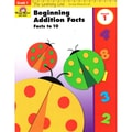 Evan-Moor® Learning Line Beginning Addition Facts to 10 Activity Book, Grades 1
