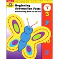 Evan-Moor® Learning Line Beginning Subtraction Subtracting From 10 or Less Activity Book, Grades 1