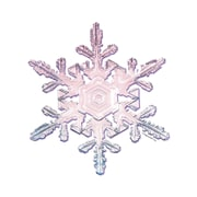 Edupress® Bulletin Board Accent, Snowflakes