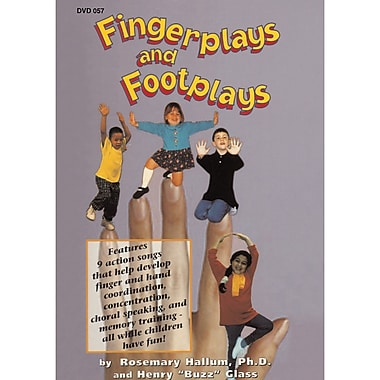 Educational Activities Fingerplays and Footplays DVD, Grades All