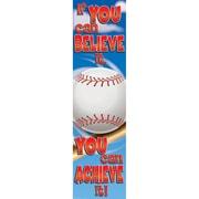 Eureka® Motivational Vertical Banner, Baseball
