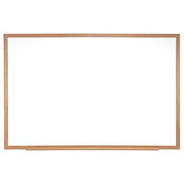 Ghent® Melamine Wood Frame Markerboard, 24
