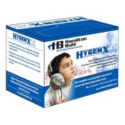 Hamilton Buhl™ HygenXCP45 5 HygenX Sanitary Headphone Covers For Over-Ear Headsets, 600 Pair