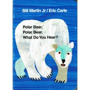 "MacMillan Publishing ""Polar Bear Polar Bear What Do You Hear"" Board Book"