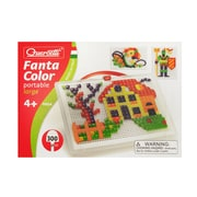 Quercetti® Fantacolor Portable Large Peg Game